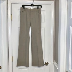 Theory boot cut pleated dress pants trousers